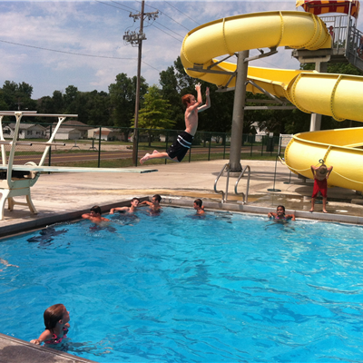 Shawnee county parks and rec official website - Swimming pool diving board regulations ...