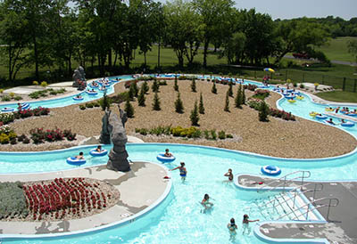 Lazy River at Shawnee North Family Aquatic Center
