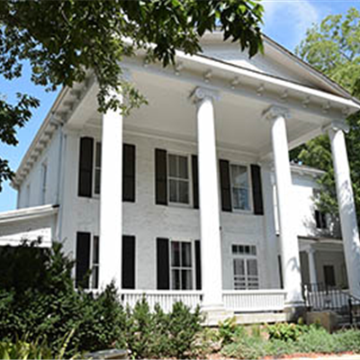 Ward-Meade Mansion at Old Prairie Town